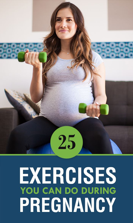 25 enkle øvelser for gravide kvinder Graviditet og-9310