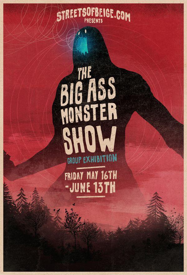 The Big Ass Monster Show on Behance