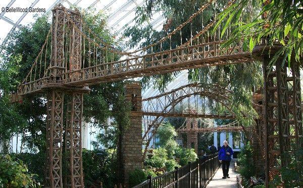 New York Botanical Garden Holiday Train Show My New York Pinterest
