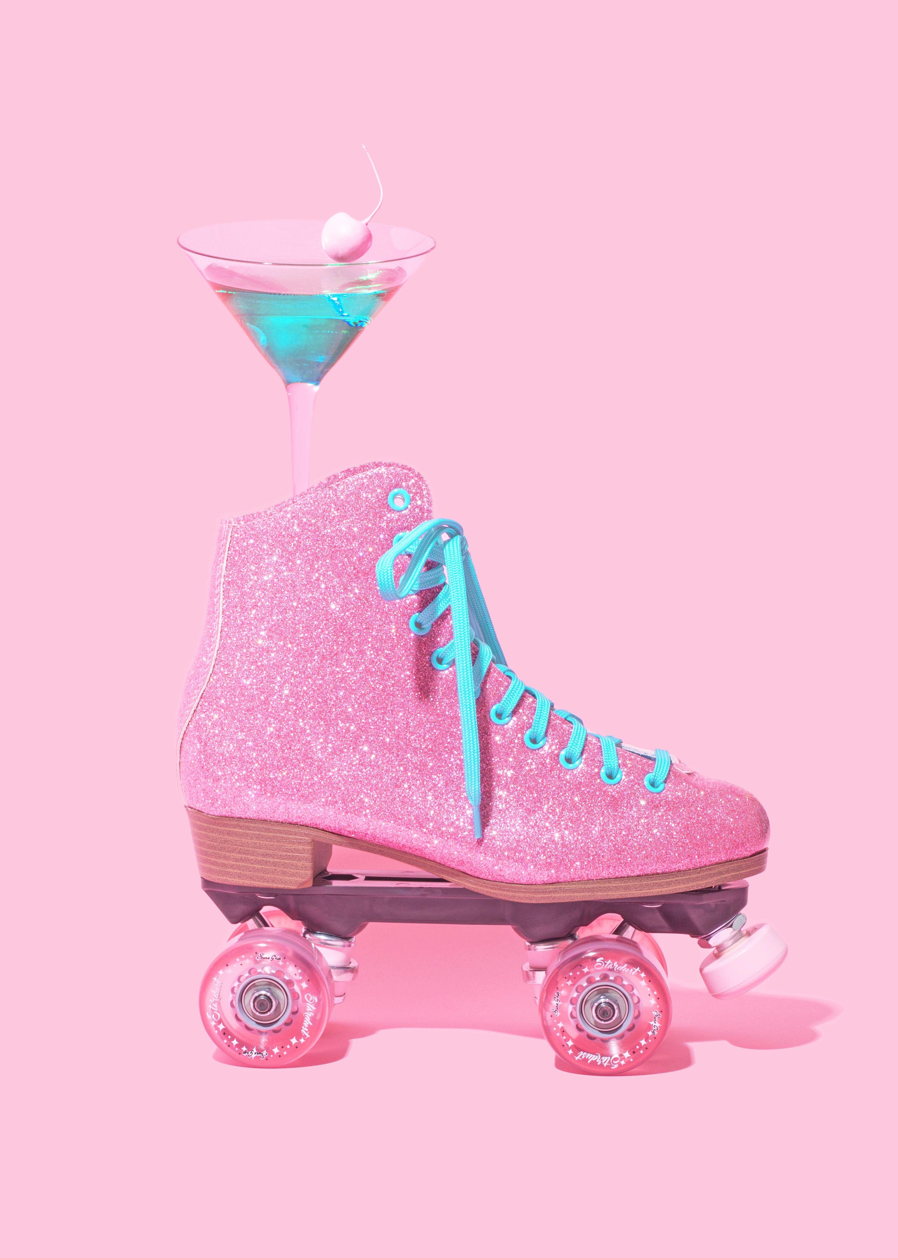 Aesthetic Roller Skates Wallpaper