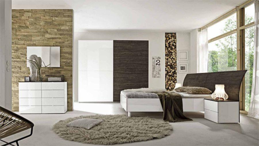 Camera da letto matrimoniale moderna con armadio ante scorrevoli ...