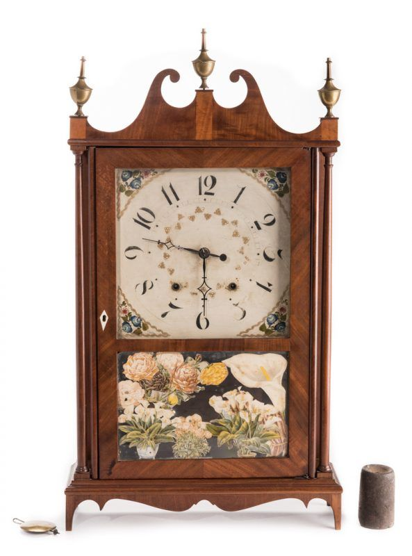 Lot 364 Seth Thomas Pillar and Scroll Clock Jewelry Antique - küchen wanduhren shop