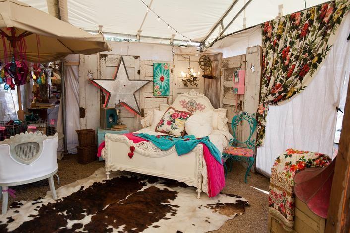 Junk Gypsy Fleamarket Tent Decor! From The Junk Gypsies
