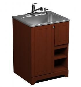 Kijiji Laundry Cabinet With Sink Faucet And Instalation Kit From