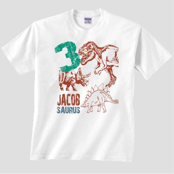 Third Birthday Shirt Boys Dinosaur Matching Family Set T 3rd Dino Tshirt 1 2 3 4 5 6 7 8 9th Gift For Him A485