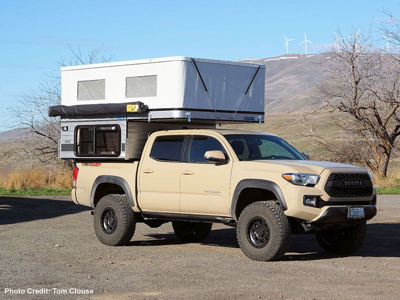 Fleet Four Wheel Camper That Fits A Toyota Tacoma Six And Half