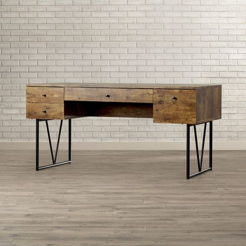 Found It At Allmodern Granite 4 Drawer Writing Desk With Images