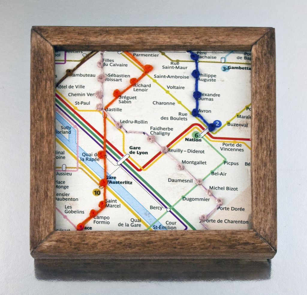 Paris Metro / French Knot Nicely executed... - Transit Maps
