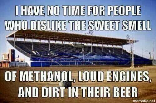 methanol #dirt #beer   For the Love of Racing!   Dirt track racing