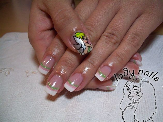 Tinkerbell by ladynails nail art gallery nailartgalleryilsmag tinkerbell by ladynails nail art gallery nailartgalleryilsmag by nails magazine www prinsesfo Gallery