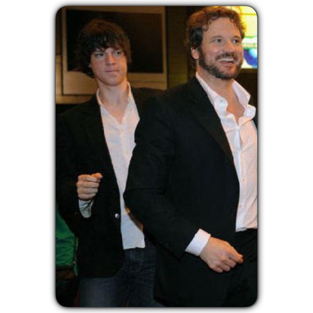 Colin firth and his son william colin firth actors
