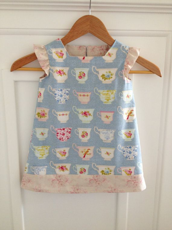0990a07f8 Baby Girls Dress   Toddler Dress   Tilda Fabric   Shabby Chic   kids ...