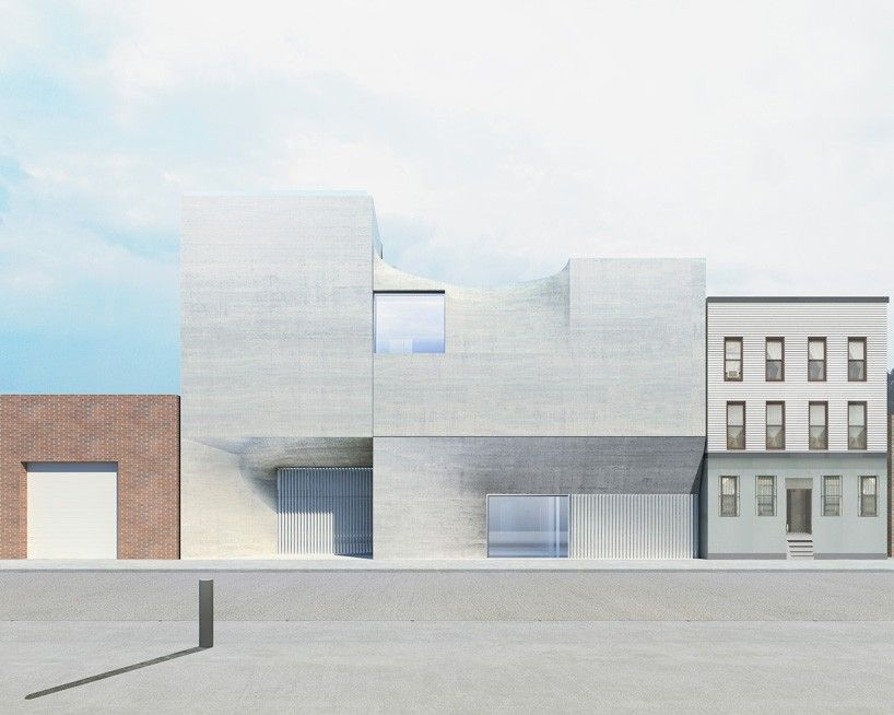 SO-IL conceives concrete brooklyn art gallery as an exploration in soft form