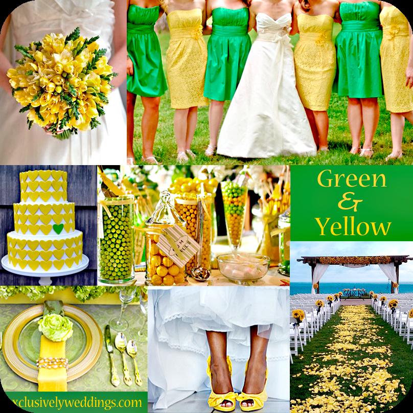 Giallo E Verde Un Matrimonio Naturale Idee Matrimonio Wedding