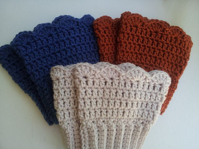 Ravelry: Crochet Boot Cuffs by Michele Gaylor