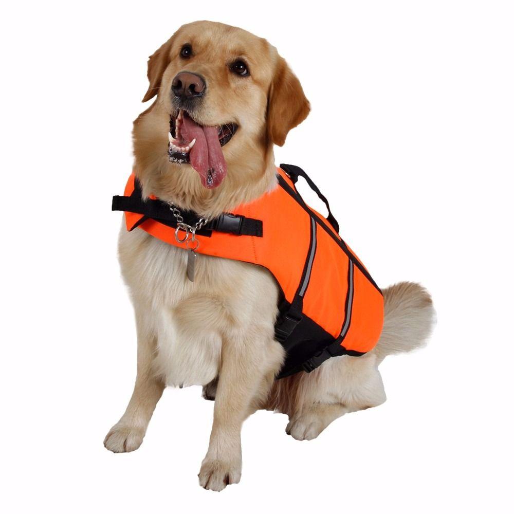 Hot Sell Dog Life Jacket Clothes Coat Training Yellow Pet Product