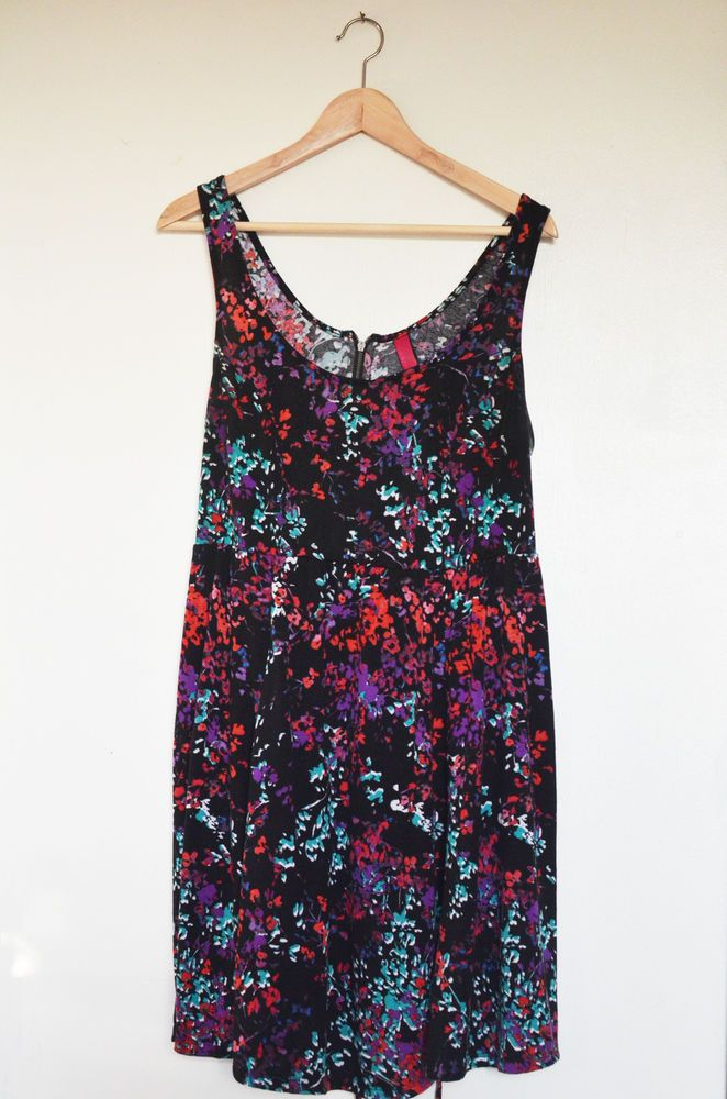 Womens PURE ENERGY plus size skater dress Size 2 / 20W 22W Floral print Sundress #PureEnergy #Sundress #Casual