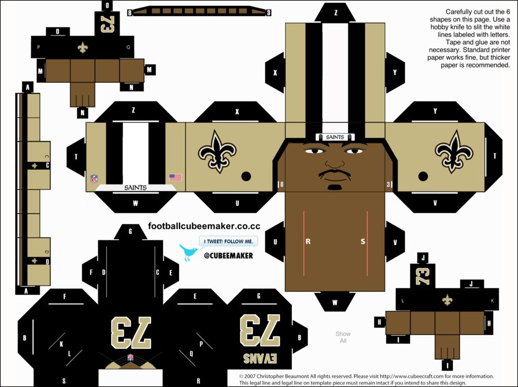 New Orleans Saints Evans Avec Images Revisions