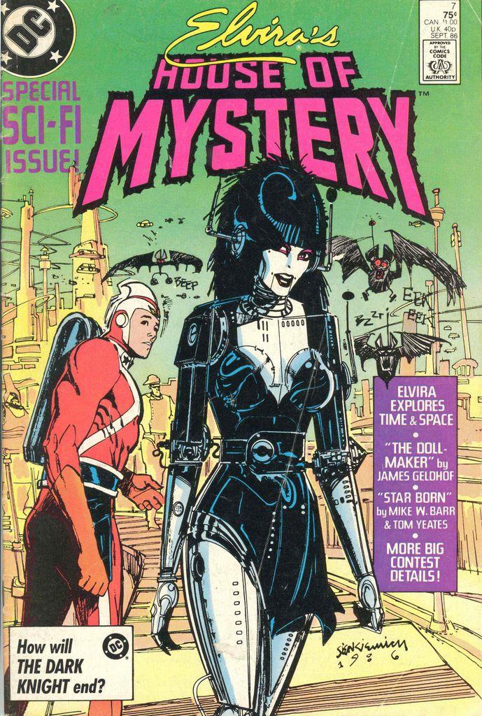 Elvira Comic Book Horror comics, Silver age comic books