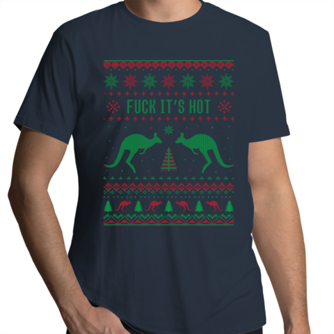 Pin on Ugly Christmas Tshirts for Aussie Blokes