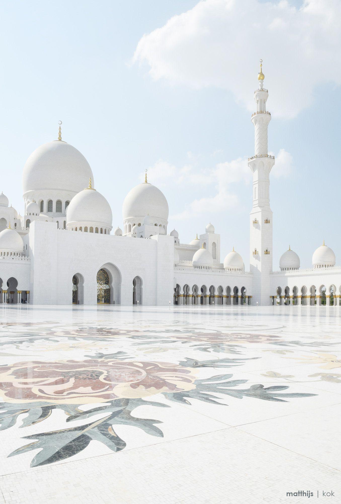 Sheikh Zayed Grand Mosque Abu Dhabi Uae Photo By Matthijs Kok
