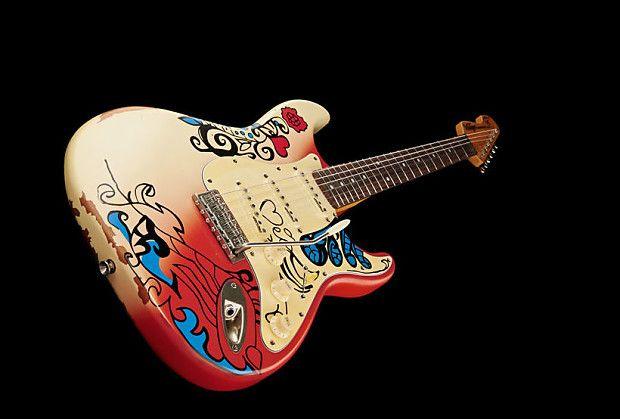 Vintage V6 Mrhdx Icon Series Thomas Blug Summer Of Love Graphic Reverb Summer Of Love Guitars For Sale Guitar