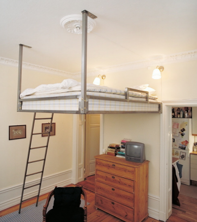 Hanging Beds For Small Spaces Ooooooh This Would Be Good For