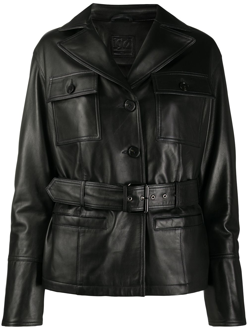 Desa 1972 Belted Leather Jacket Leather Jacket Real Leather Jacket Leather Jacket Black [ 1334 x 1000 Pixel ]