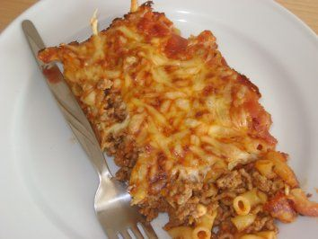 Photo of Pasta bake with minced meat – recipe with picture