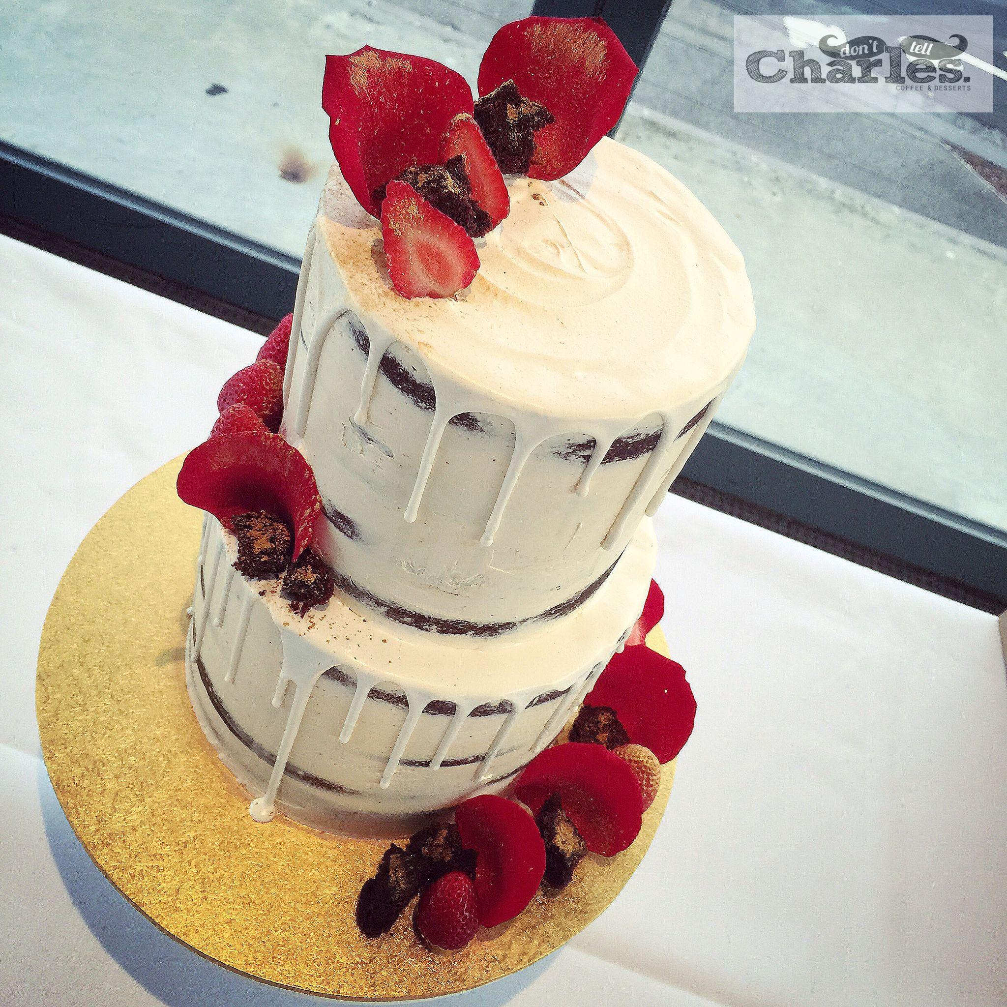 White Chocolate Ganache For Drip Cake