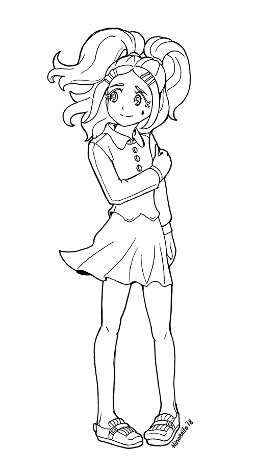Dusk Lol Surprise Doll Coloring Page By Https Www Deviantart Com Hinoraito On Deviantart Coloring Pages Lol Color