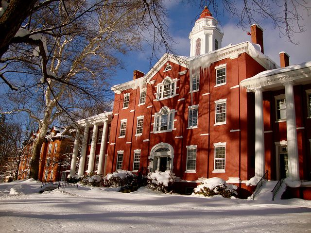 Bentley Hall Allegheny College College Architecture Colleges And Universities Architecture