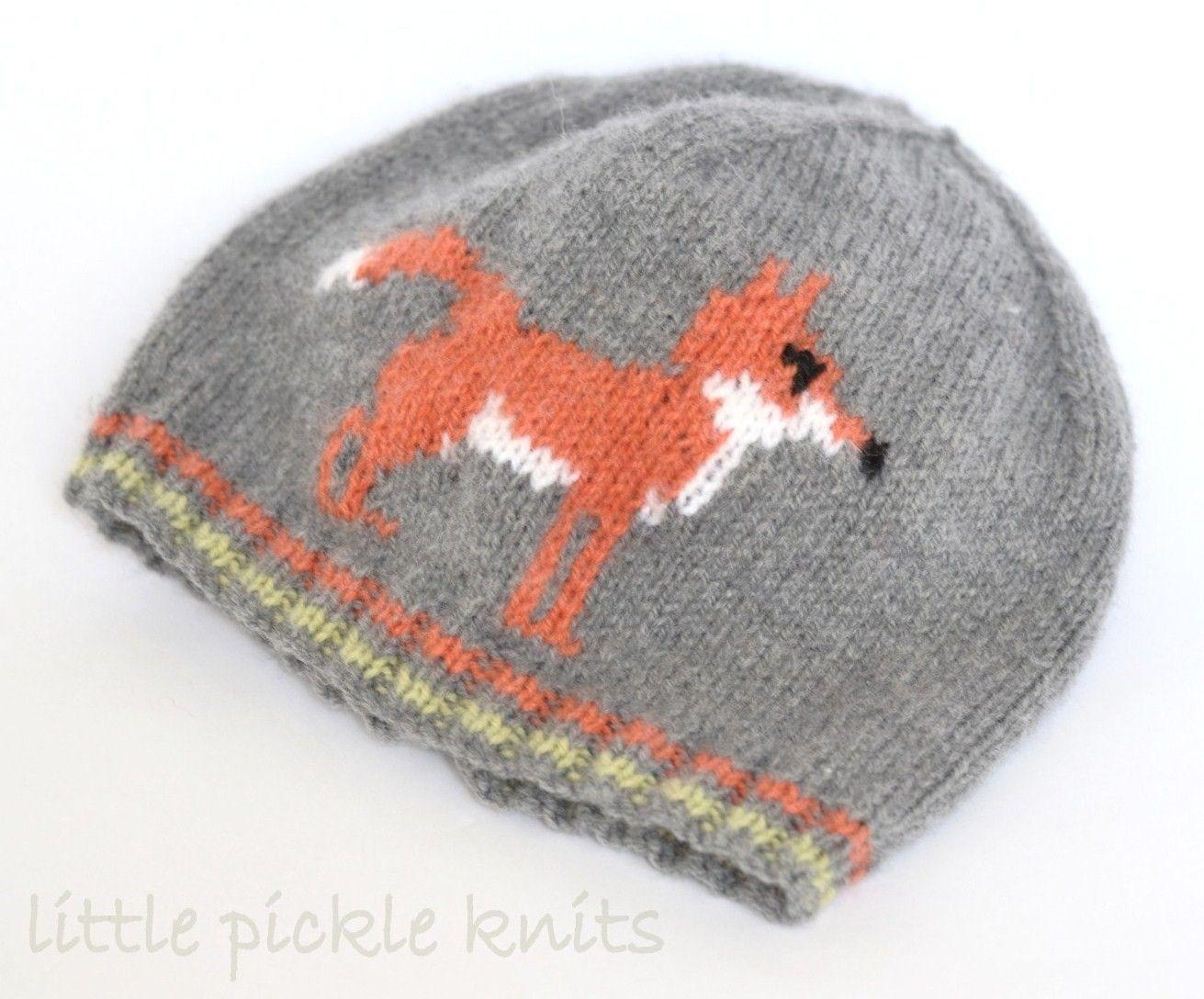 Mr Fox Hat by Linda Whaley - Digital Version | Independent Designer ...