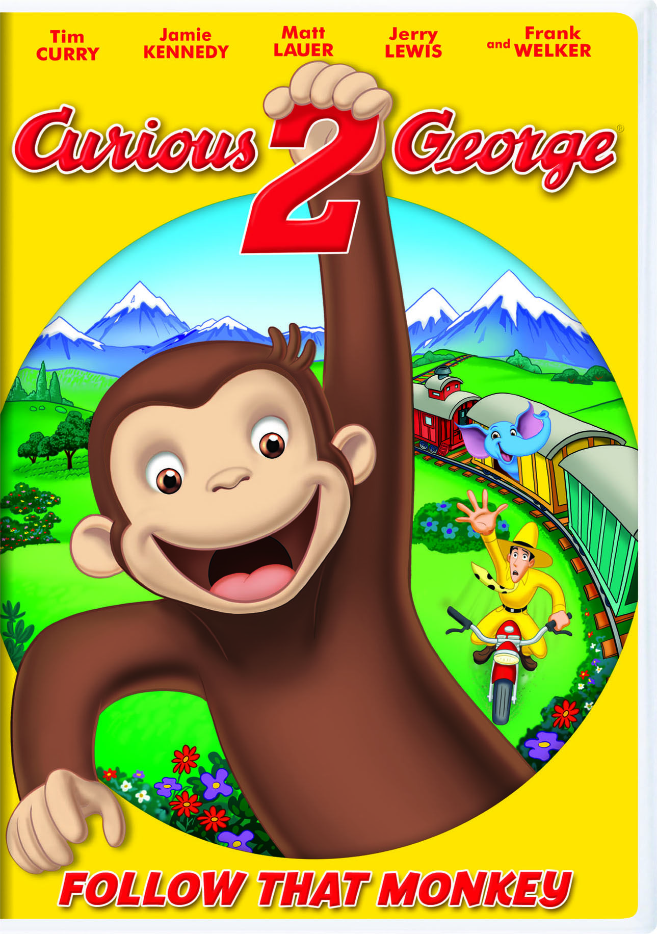 Curious George 2 Follow That Monkey Dvd George