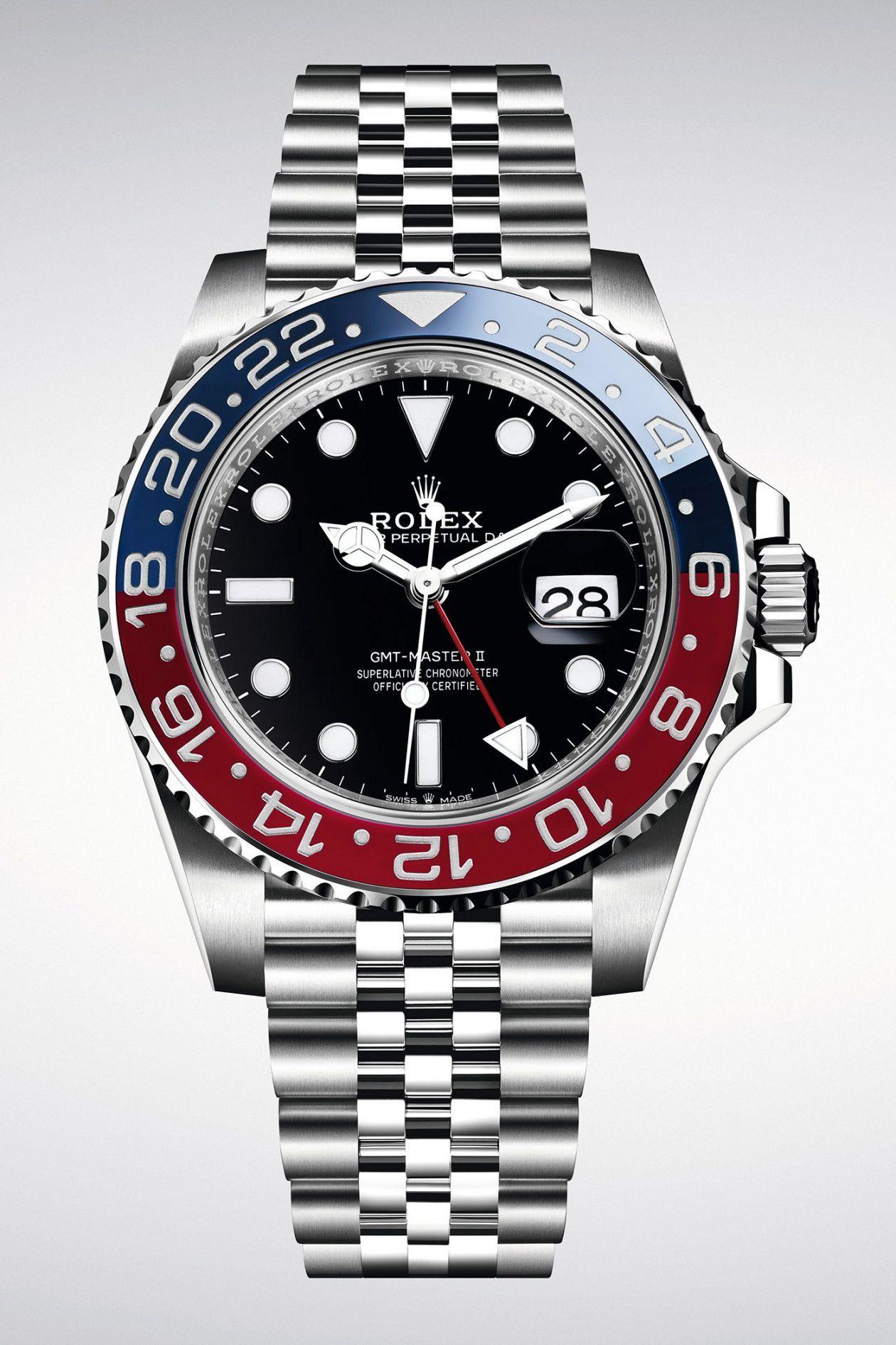 Rolex Gmt Master Ii Pepsi Rolex Rolex Gmt Watches For Men