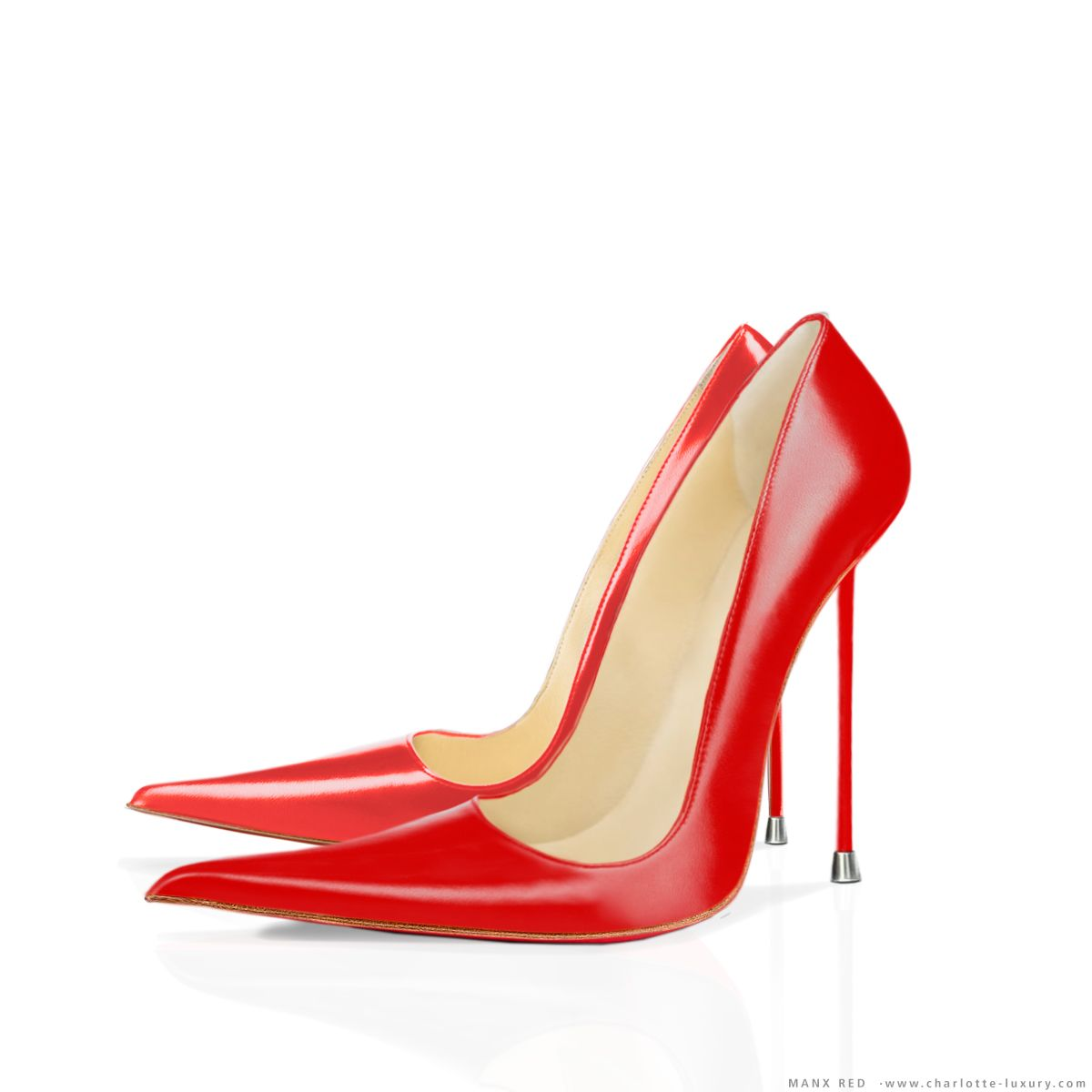c74f35f3ecb Red sandy shoes grease - Red Leather High Heels   Even More Fashion ...