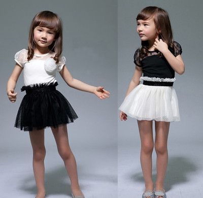 Como combinar un vestido negro para nina