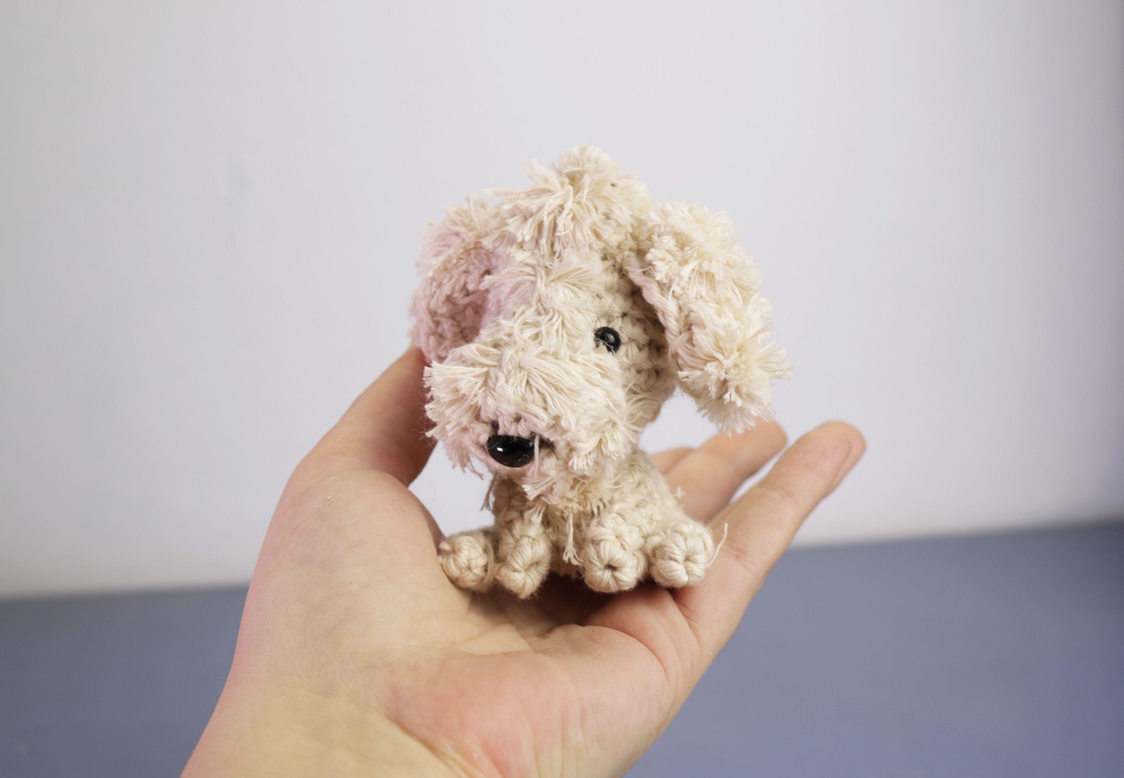 Perro con pelo pequeño amigurumi | muñecos | Pinterest | Pequeños ...