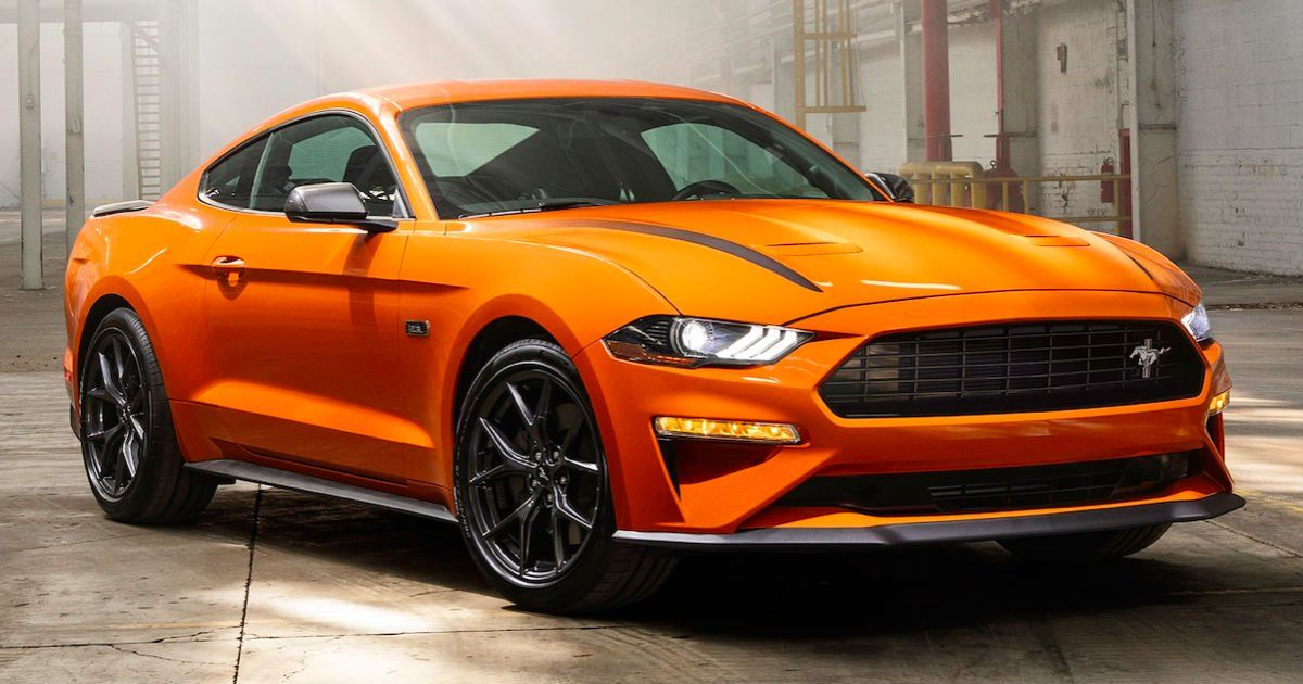 Win A 2020 Ford Mustang Ecoboost Fastback Ford Mustang Ecoboost