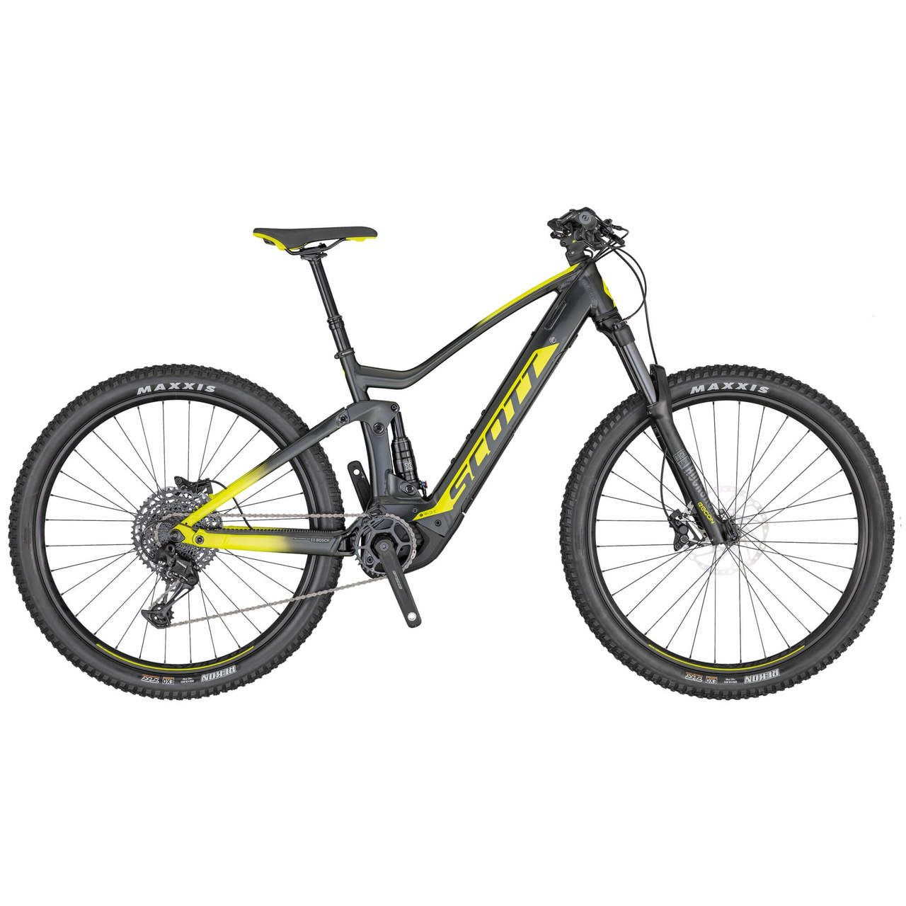 Scott Electric Strike Eride 940 Green 2020 Mountain Biking