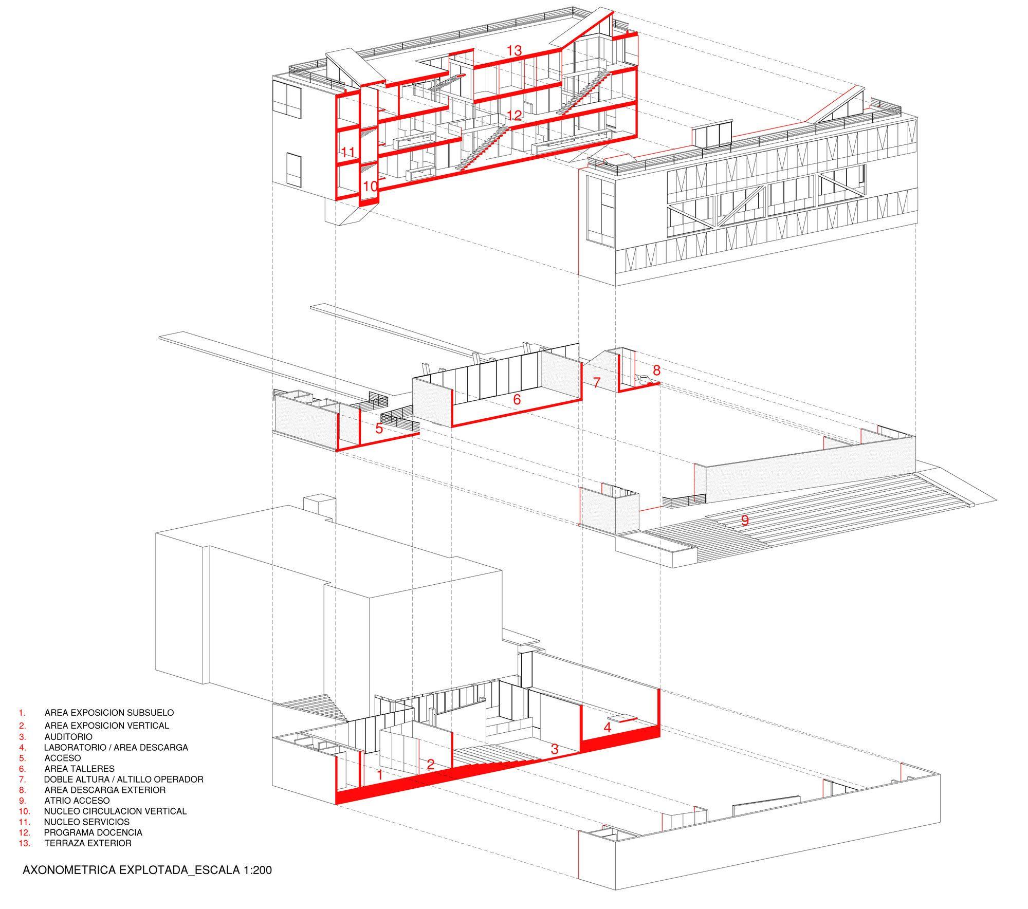 galer u00eda de ganadores concurso edificio docente y de