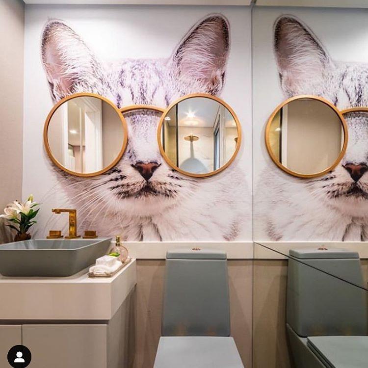 O Banheiro Mais Fofo Da Semana So Pode Ser Para Uma Gatinha A