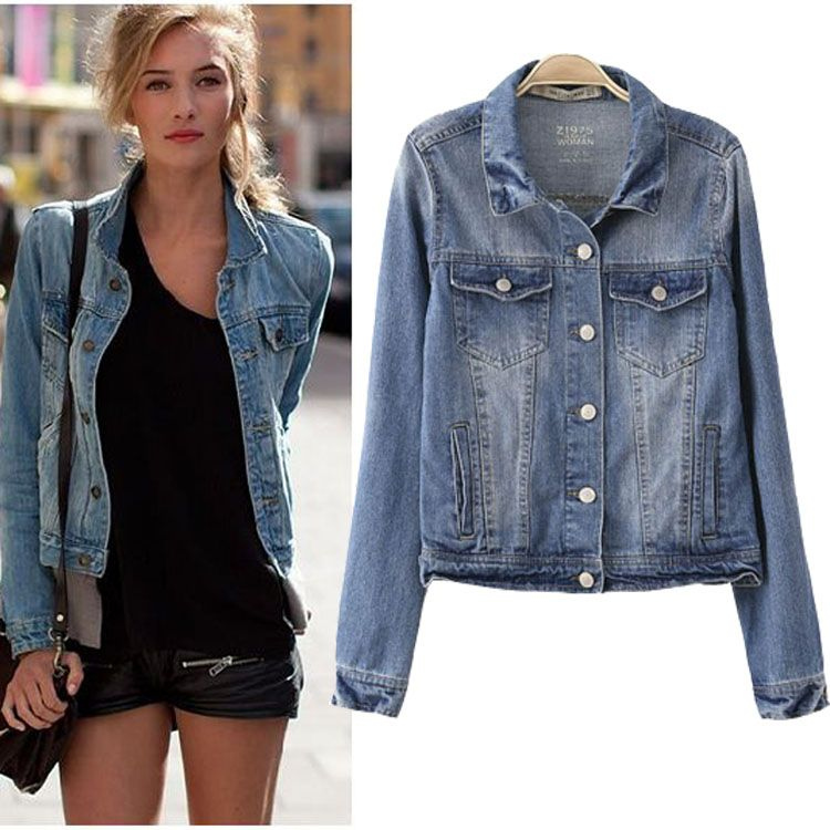 Jean Jacket For Ladies - JacketIn