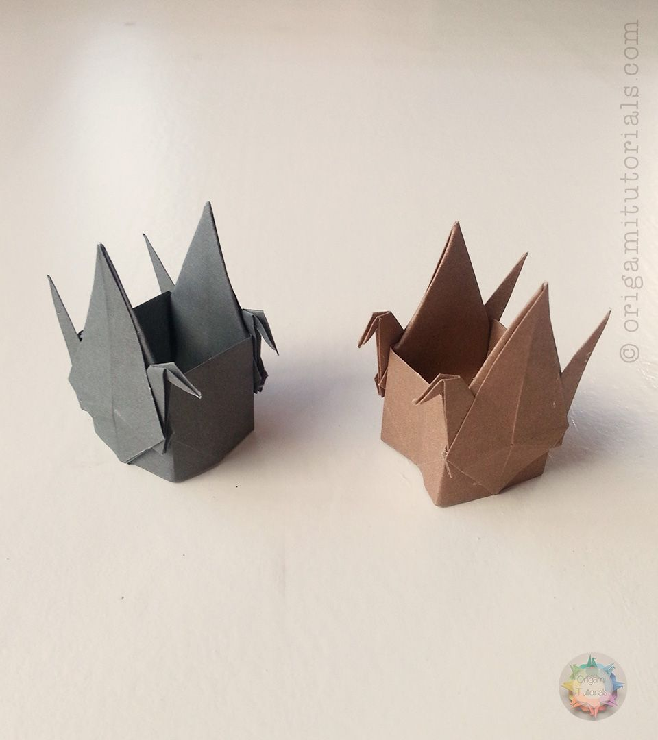Box With Two Cranes Packaging Pinterest Origami Crane Diagram I Found Another Cute Design That Want To Share You It Is Called By Elena Afonkina Of Russia The Can