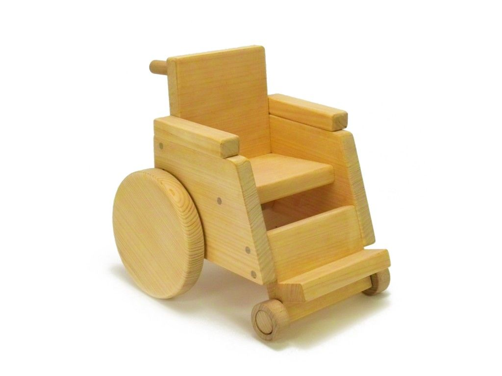 not your usual toy: wooden wheelchair | sweet stuff | wooden