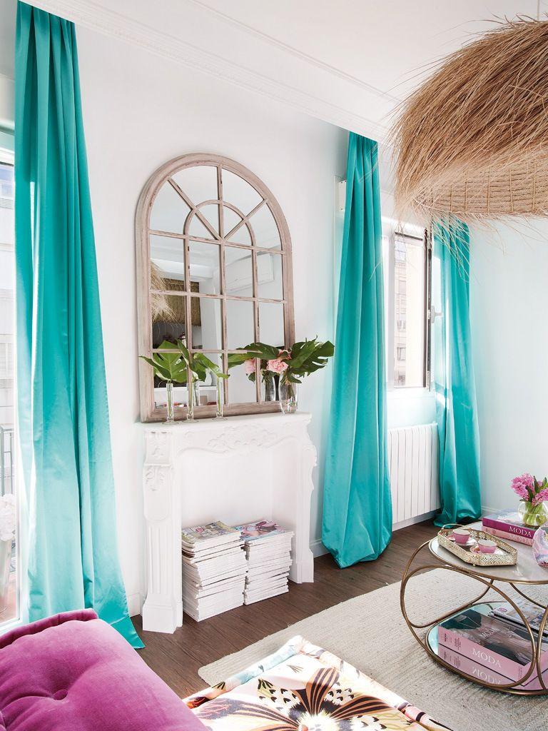 fen tre miroir sur la chemin e mirrors miroirs pinterest la chemin e chemin e et miroirs. Black Bedroom Furniture Sets. Home Design Ideas