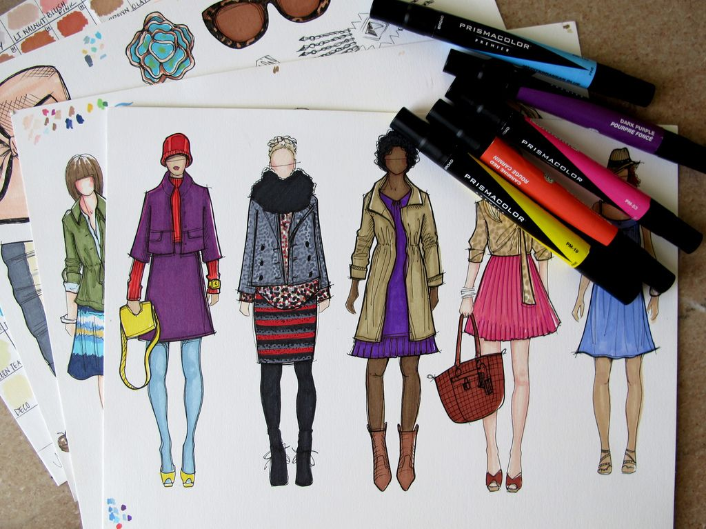 Art supplies for fashion design 7