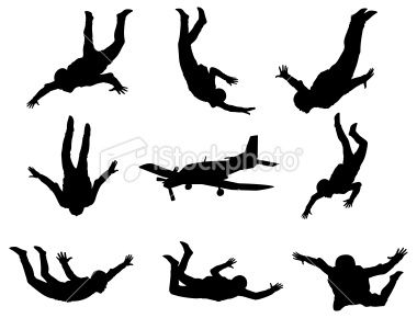 Www Twodozendesign Info I 1 Png Silhouette Art Skydiving Silhouette Vector
