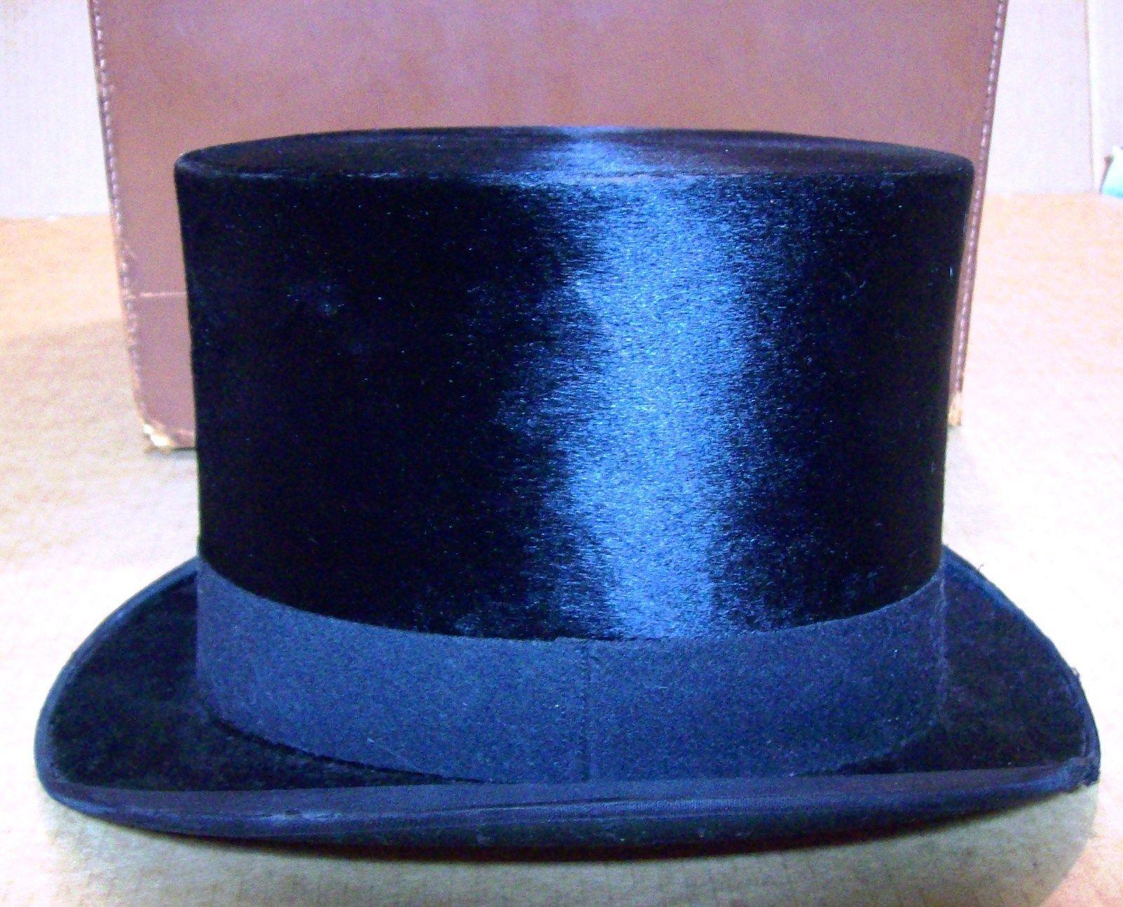 Austin Reed Beaver Felt Top Hat With Original Box And Keys Ebay Austin Reed Top Hat Original Box