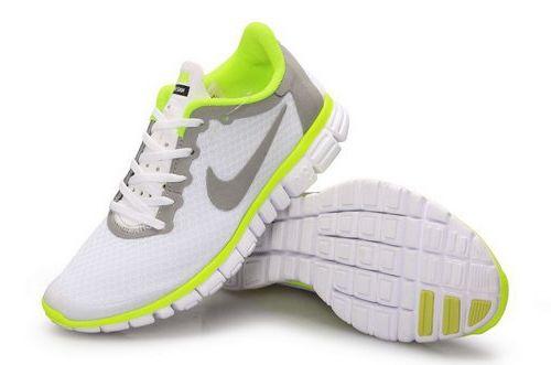 d3e67a7e2666 Nike Free 3.0 Womens Size Us9 9.5 10 White Green Norway